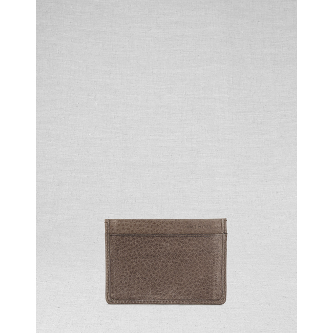 Cheap Belstaff Men  ASH CITYMASTER CARD HOLDER Online