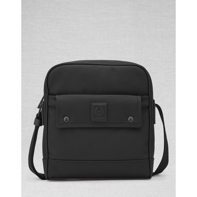 Cheap Belstaff Men BLACK ROADMASTER CROSSBODY BAG Online