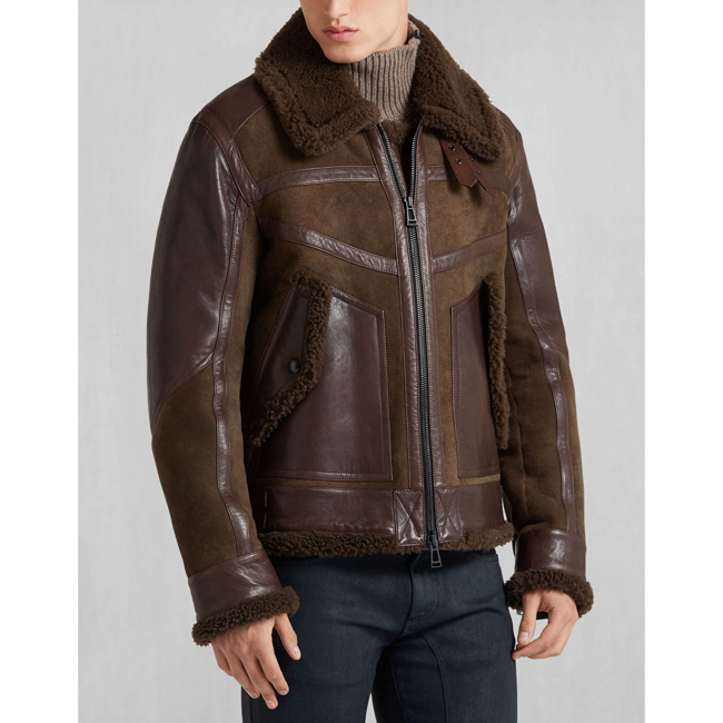 Cheap Belstaff Men BARK SOUTHBOROUGH BLOUSON Online