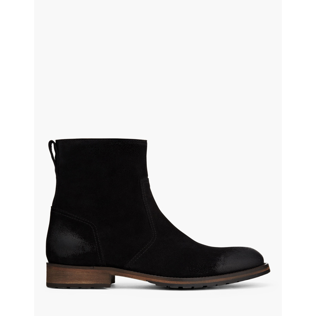 Cheap Belstaff Men  BLACK ATTWELL SHORT BOOTS Online
