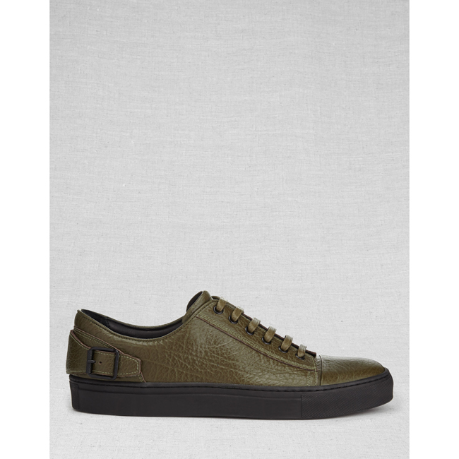 Cheap Belstaff Men OLIVE DAGENHAM SNEAKERS Online