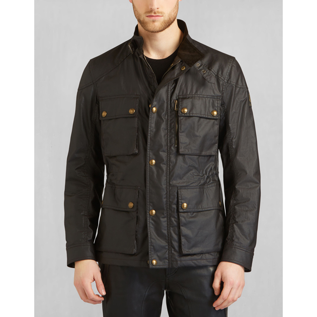 Cheap Belstaff Men MAHOGANY TRIALMASTER JACKET Online