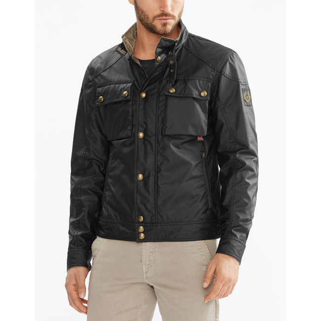 Cheap Belstaff Men BLACK RACEMASTER BLOUSON JACKET Online