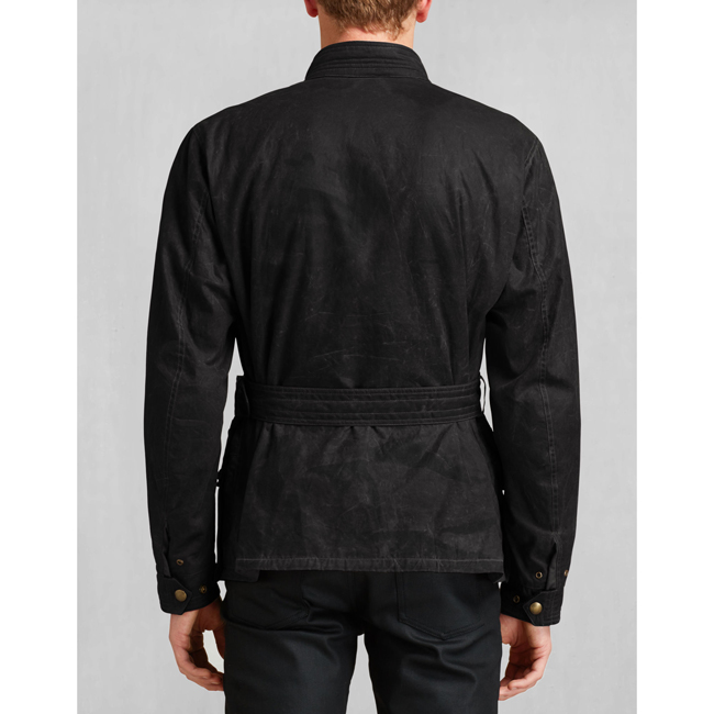 Cheap Belstaff Men BLACK JUBILEE TRIALMASTER JACKET Online