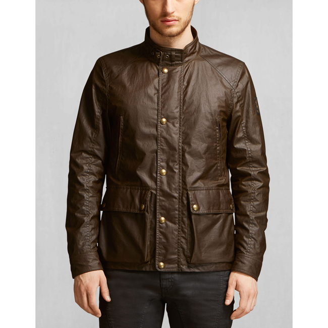 Cheap Belstaff Men FADED OLIVE TOURMASTER JACKET Online