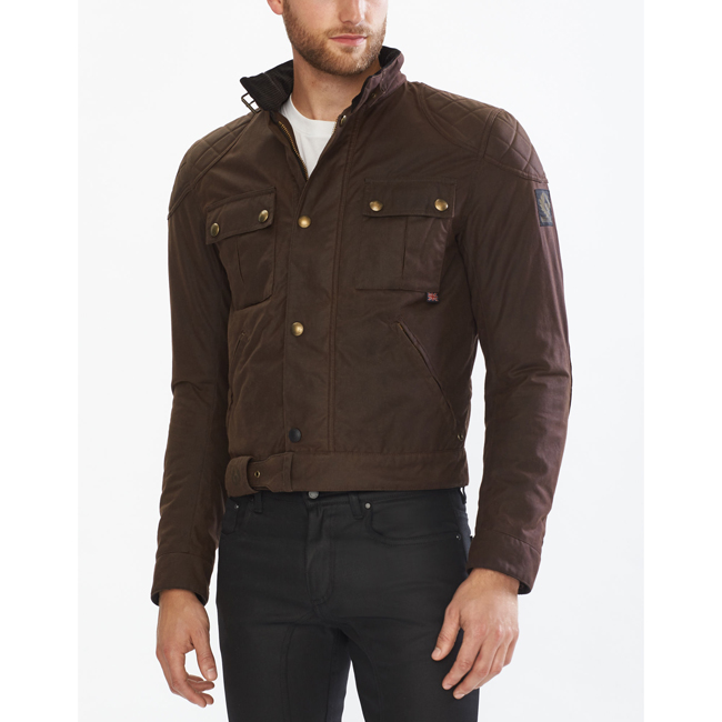 Cheap Belstaff Men MAHOGANY BROOKLANDS BLOUSON Online