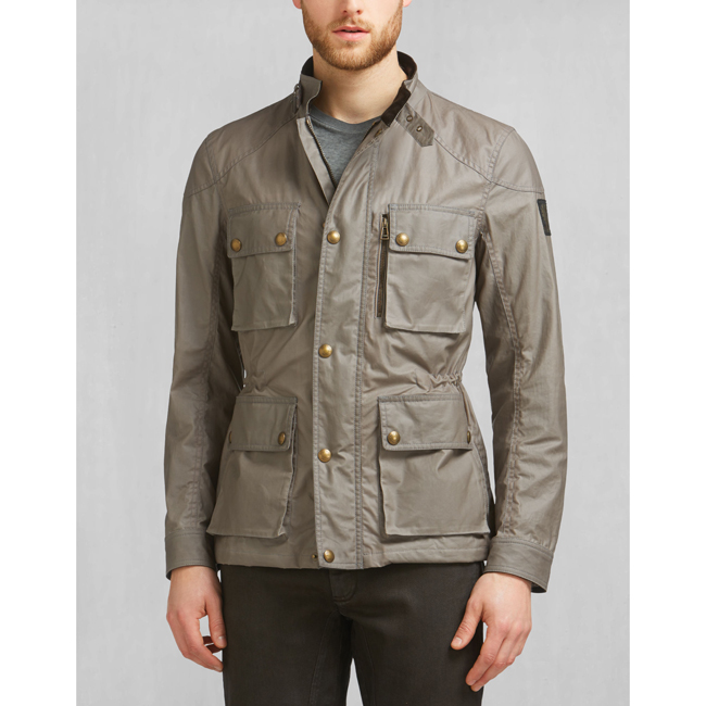 Cheap Belstaff Men ASH TRIALMASTER JACKET Online