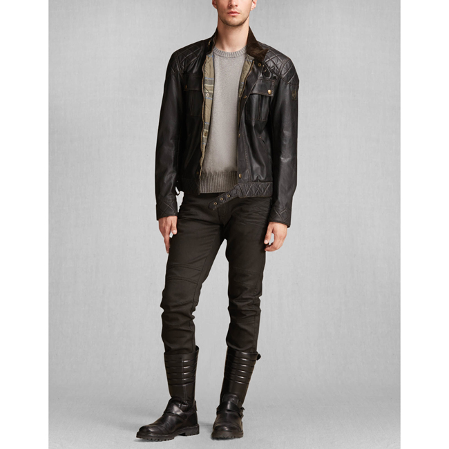 Cheap Belstaff Men BLACK THE S ICON BLOUSON Online