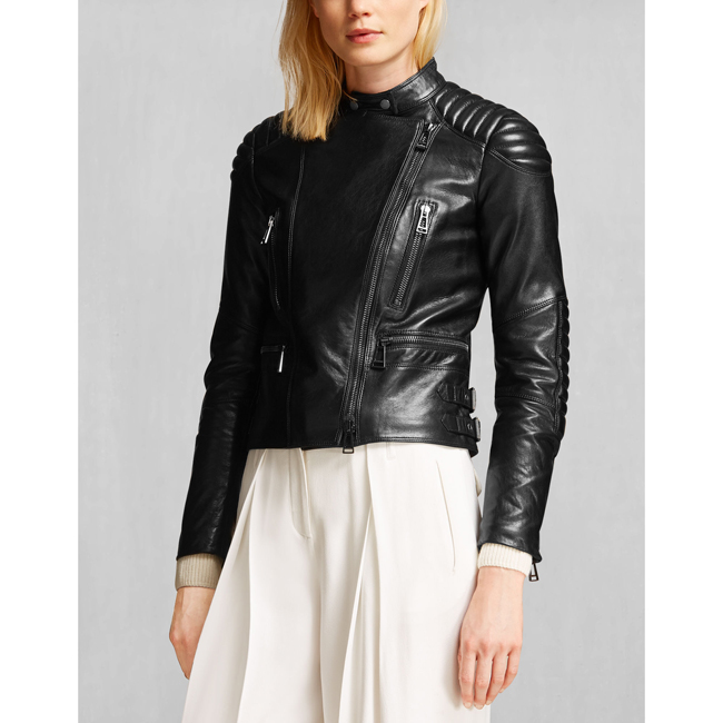 Cheap Belstaff Women BLACK SIDNEY JACKET Online