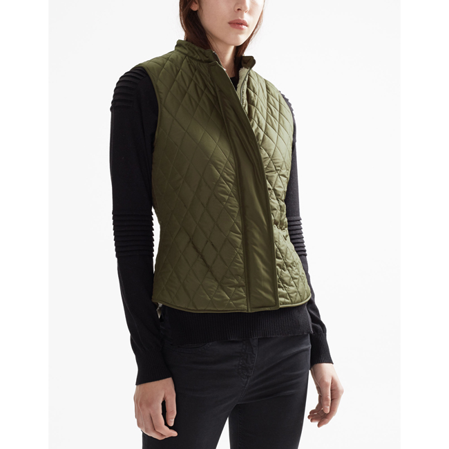 Cheap Belstaff Women FADED OLIVE WALSTEAD VEST Online