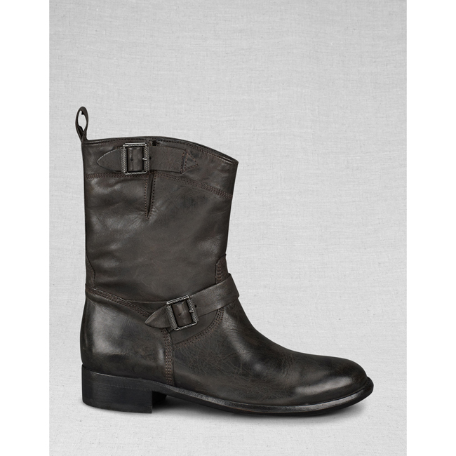Cheap Belstaff Women  BLACK BEDFORD SHORT BOOT Online