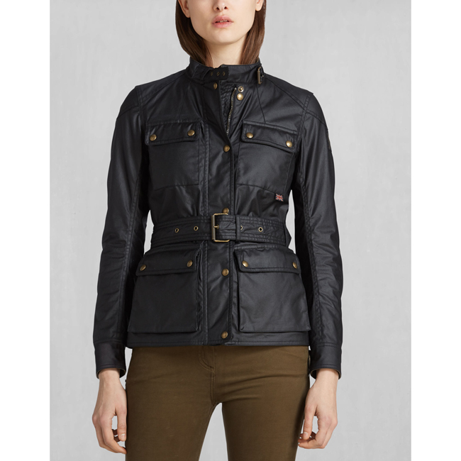 Cheap Belstaff Women BLACK ROADMASTER JACKET Online