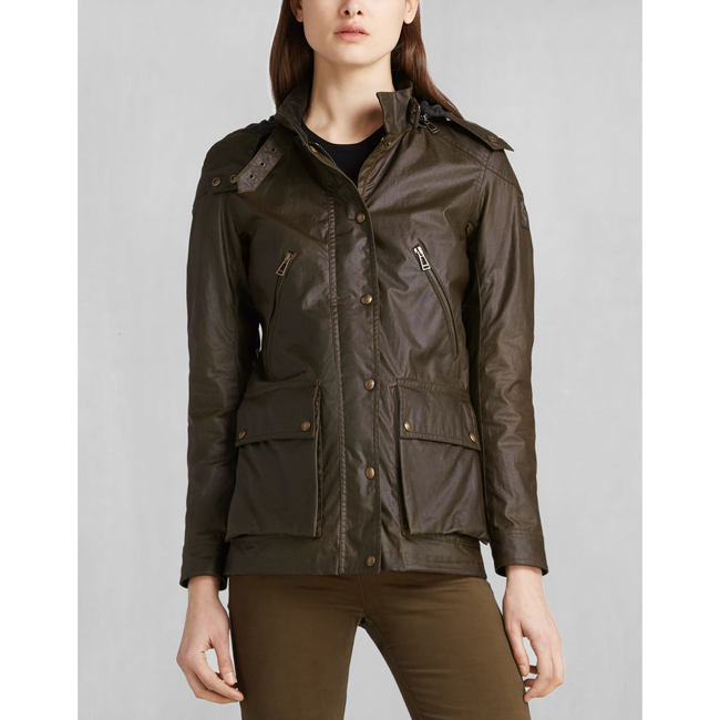 Cheap Belstaff Women FADED OLIVE NEW TOURMASTER 2.0 JACKET Online
