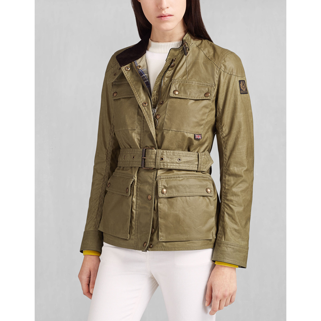 Cheap Belstaff Women CAPERS ROADMASTER JACKET Online