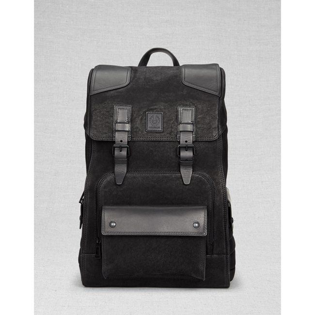 Cheap Belstaff Men BLACK TOURMASTER BACKPACK Online
