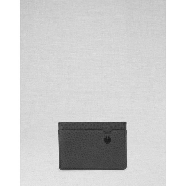 Cheap Belstaff Men  BLACK CITYMASTER CARD HOLDER Online