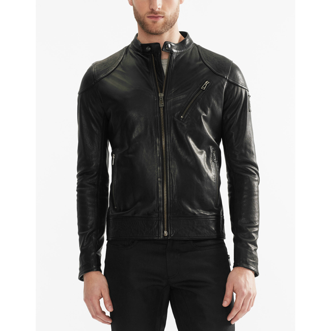 Cheap Belstaff Men BLACK MAXFORD BLOUSON JACKET Online