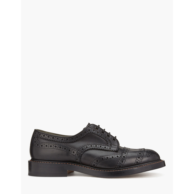Cheap Belstaff Men BLACK TRICKER'S PHOENIX SHORT SHOES Online