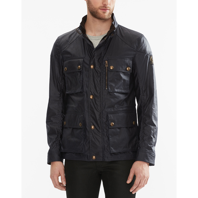 Cheap Belstaff Men DARK NAVY TRIALMASTER JACKET Online