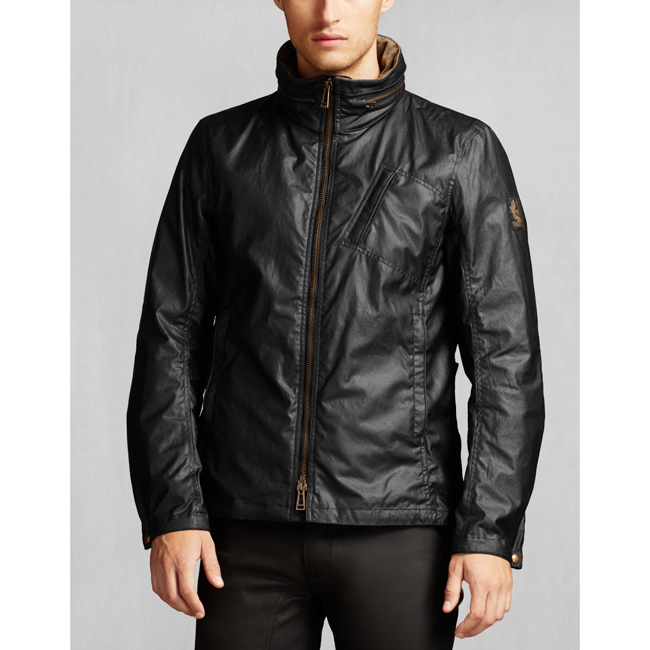 Cheap Belstaff Men BLACK CITYMASTER JACKET Online