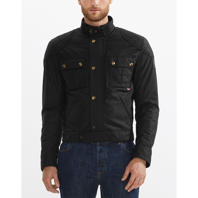 Cheap Belstaff Men BLACK BROOKLANDS BLOUSON Online