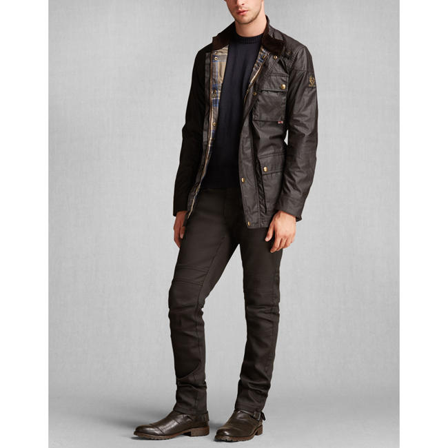 Cheap Belstaff Men MAHOGANY THE ROADMASTER JACKET Online