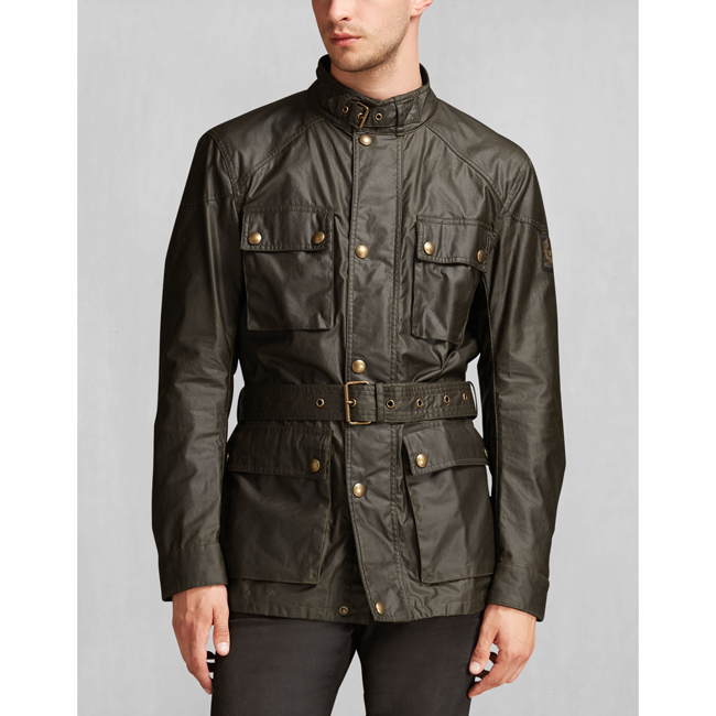 Cheap Belstaff Men FADED OLIVE THE ROADMASTER JACKET Online