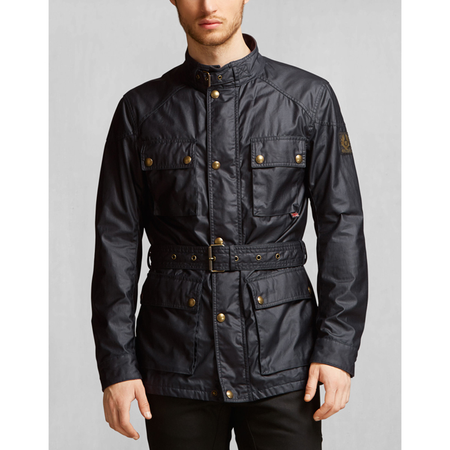 Cheap Belstaff Men DARK NAVY THE ROADMASTER JACKET Online