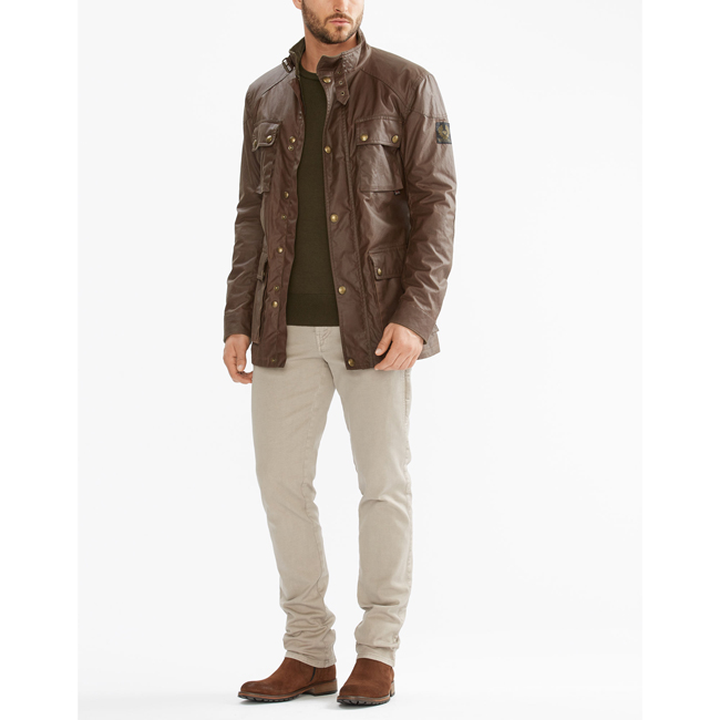 Cheap Belstaff Men UMBER THE ROADMASTER JACKET Online