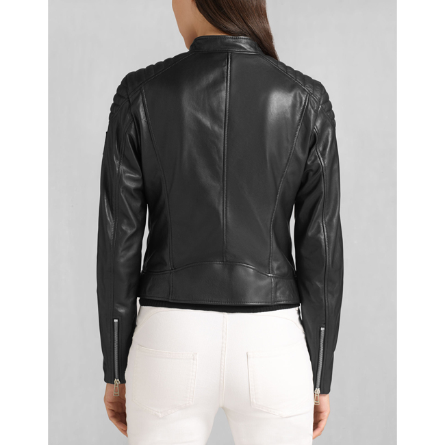 Cheap Belstaff Women BLACK MOLLISON JACKET Online