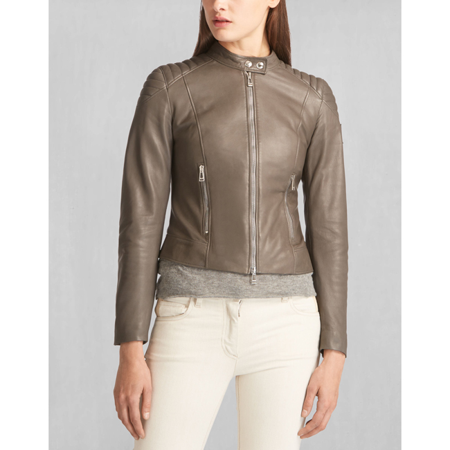 Cheap Belstaff Women CHARCOAL MOLLISON JACKET Online