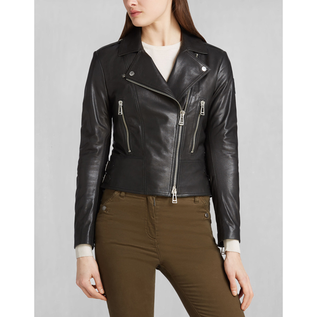 Cheap Belstaff Women BLACK MARVING-T BLOUSON Online