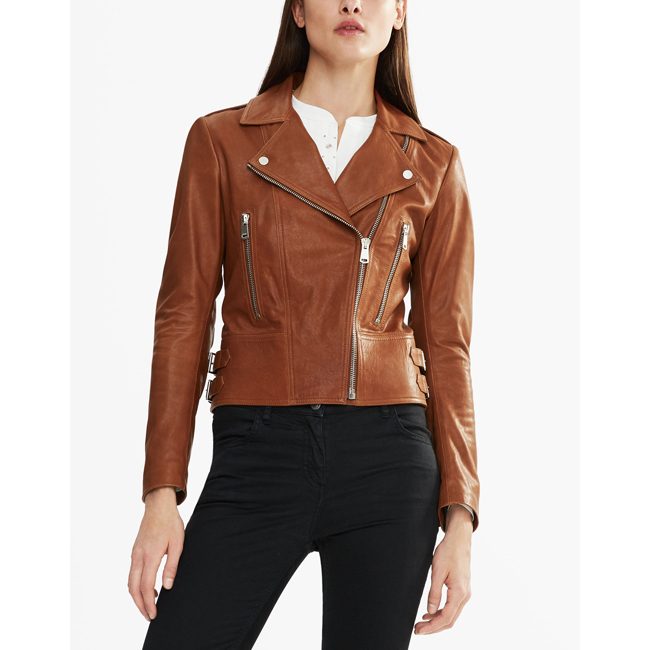 Cheap Belstaff Women UMBER MARVING-T BIKER JACKET Online