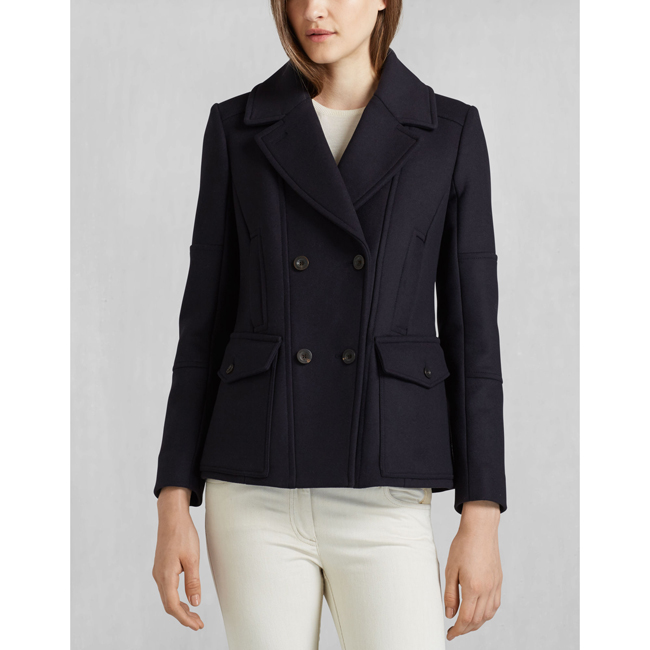 Cheap Belstaff Women  MIDNIGHT BARBEAU JACKET Online