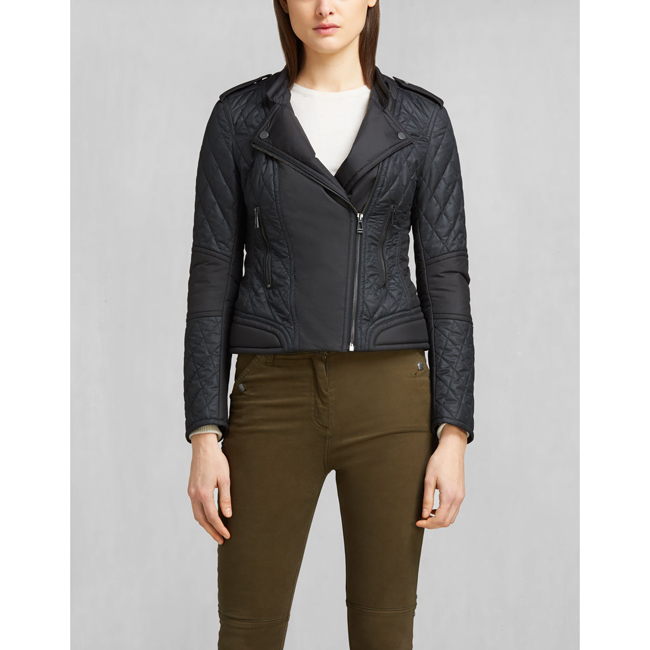 Cheap Belstaff Women BLACK ENDURO CAFÉ RACER JACKET Online