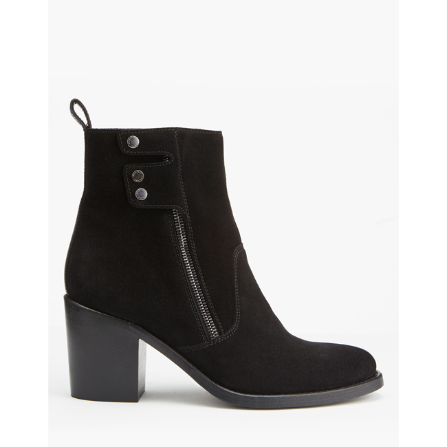 Cheap Belstaff Women  BLACK DURSLEY BOOTS Online