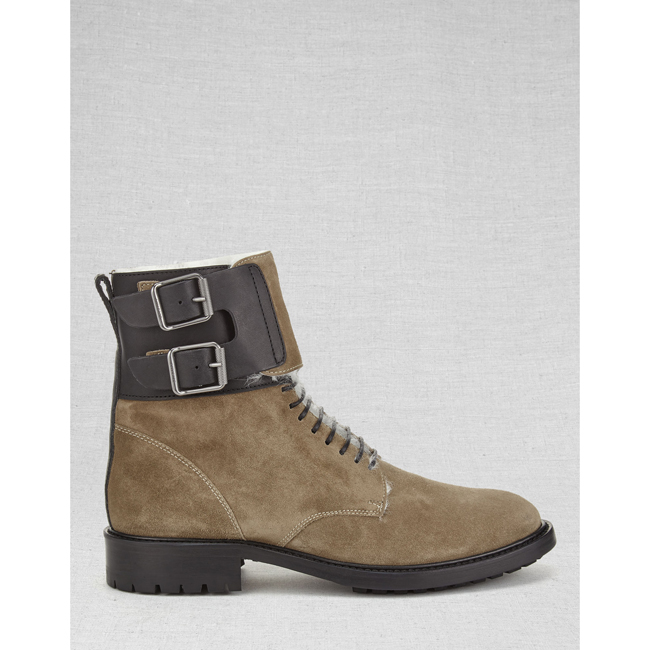 Cheap Belstaff Women FLINT THAYER SHORT BOOTS Online