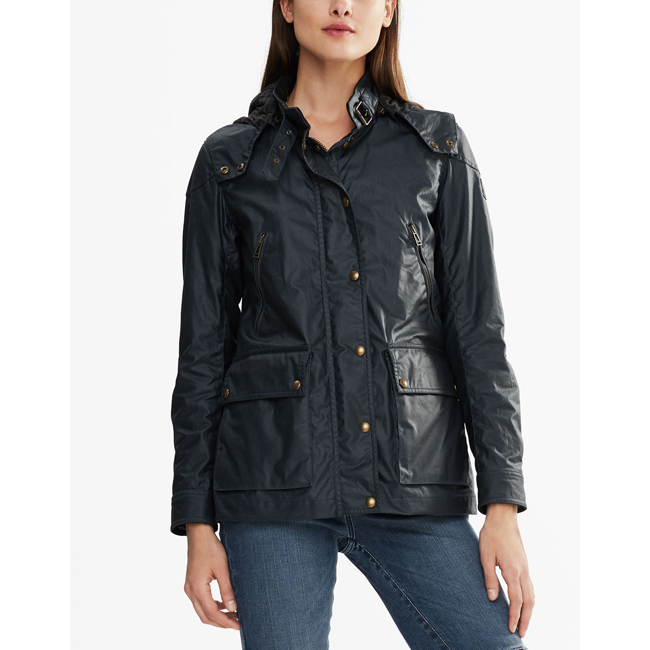 Cheap Belstaff Women DARK TEAL NEW TOURMASTER 3.0 JACKET Online