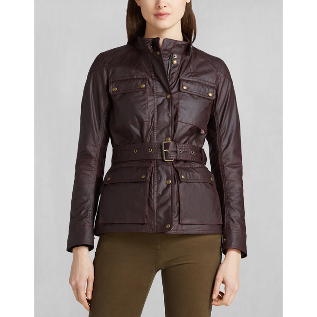 Cheap Belstaff Women ROSEWOOD ROADMASTER JACKET Online
