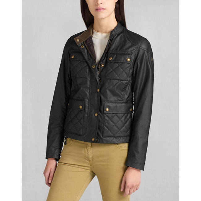Cheap Belstaff Women BLACK PATHMASTER BLOUSON Online